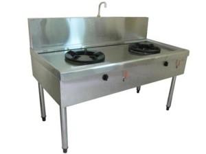 Bếp công nghiệp 2 lò