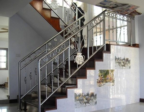 Cầu Thang Inox Nghệ Thuật